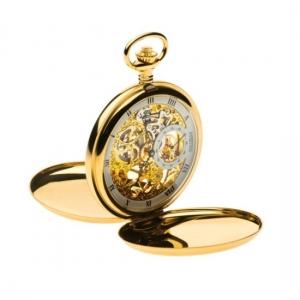 นาฬิกาพกนำเข้ายุโรประบบกลไกไขลานBrandฌองปิแอร์ สีทอง ***Pre-Order**