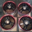WHD76 - Super Advan กางเกงใน ดำแดง ขอบ 17 กว้าง 9 off+42 5H114.3 thumbnail 1