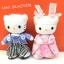 ตุ๊กตาคิตตี้ Kitty ชุดกิโมโนญี่ปุ่น 18 cm thumbnail 1