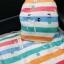 หมอนผ้าห่มคราฟ เป็นเป้ มีสายสะพาย ซุกมือได้ ลายที่1 thumbnail 4