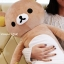 หมอนข้าง ริลัคคุมะ Rilakkuma หมีสีน้ำตาล มีรุ่น: รุ่นผอม 100cm, รุ่นผอม80cm, รุ่นยาวพิเศษ 108cm และ รุ่นลิขสิทธิ์ไทย 76cm thumbnail 11