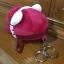 กระเป๋าใส่เศษสตางค์ ลาย คิตตี้ สีชมพูเข้ม thumbnail 2