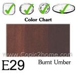 E29 - Burnt Umber