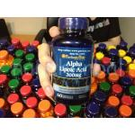Alpha Lipoic Acid 300 mg. 60 Softgels 1 กระปุก