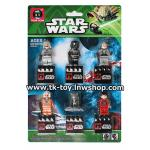 เลโก้ สตาร์วอร์ส มินิฟิกเกอร์ 6 ตัว เซ็ต B LEGO STARWARS SET B