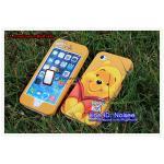 เคส iPhone5s/5 ฝาประกบหน้าหลัง - หมีPooh