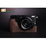 เคสกล้อง Fujifilm X70 สีน้ำตาลเข้ม