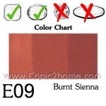 E09 - Burnt Sienna