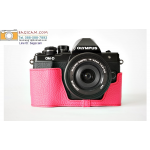 เคสกล้อง olympus omd EM10 II สีชมพู