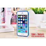 เคส iPhone5/5s - NXCase กันรอยบาง 0.5 mm สีฟ้า