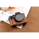 เคสกล้อง Sony A7 II สีน้ำตาล drak brown