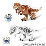 เลโก้ไดโนเสาร์ LELE.79151 ชุด Jurassic World เซ็ต 2 กล่อง.