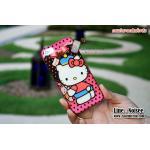 เคส iPhone5 /5s ลายการ์ตูน TPU นิ่ม - ลาย Kitty