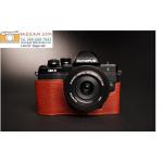 เคสกล้อง olympus omd EM10 II สีน้ำตาล