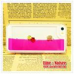 เคส iPhone5/5s - เคสตู้ปลา สีชมพู