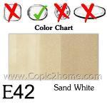 E42 - Sand White