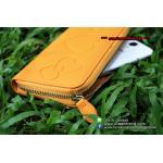 กระเป๋าใส่โทรศัพท์ Heart-wallet - สีเหลือง