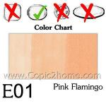 E01 - Pink Flamingo
