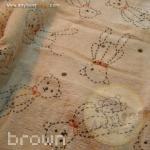 towel - brown