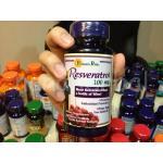 Resveratrol 100 mg. 60 Capsules 1 กระปุก