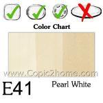E41 - Pearl White