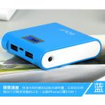 PowerBank - Golf GF-LCD03 7800 mAh - สีฟ้า