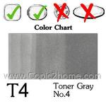 T4 - Toner Gray No.4