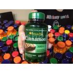 Puritan's Pride Cinnamon 500 mg. 100 Capsules 1 กระปุก