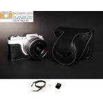 เคสกล้อง Panasonic GF9 /GF8 /GF7 สีดำ พร้อมสาย