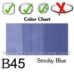 B45 - Smokey Blue