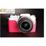 เคสกล้อง Panasonic GF9 /GF8 /GF7 สีชมพู