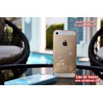 เคส iPhone 5/5s - TPU Stitch สีทอง