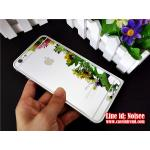 กระจกนิรภัย iPhone 6 - สีเงิน