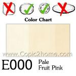 E000 - Pale Fruit Pink