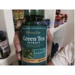Puritan's Pride Standardized Green Tea Extract 315 mg/100 capsules