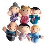 ตุ๊กตานิ้วมือ ชุดครอบครัวสุขสันต์