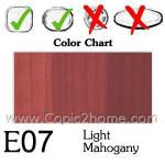 E07 - Light Mahogany