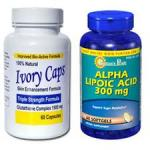พิเศษ !! ALPHA LIPOIC ACID 300 mg. + IVORY CAPS