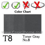 T8 - Toner Gray No.8