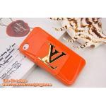 เคส iPhone5s/5 Louis Vuitton TPU - สีส้ม