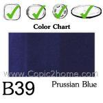 B39 - Prussian Blue