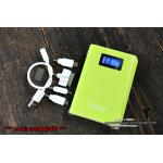 PowerBank - Golf GF-LCD04 10400 mAh - สีเขียว