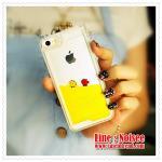 เคส iPhone5/5s - เคสตู้ปลา สีเหลือง