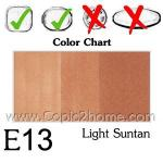 E13 - Light Suntan