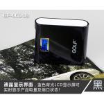 PowerBank - Golf GF-LCD03 7800 mAh - สีดำ