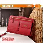 เคส iPad mini 1/2/3 - Remax Pedestrian Series - สีแดง