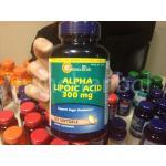 Alpha Lipoic Acid 300 mg. 120 Softgel 1 กระปุก