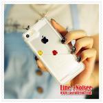 เคส iPhone5/5s - เคสตู้ปลา สีขาว