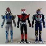 Kamen rider soft vinyl SET C