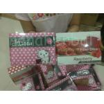 platinum fiber ditox raspberry+hello collagen (เซ็ตคู่) 3 เซ็ต